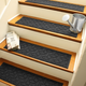 Home Accent Aqua Shield Elipse Stair Treads (Set of 4)