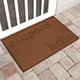 Home Accent Aqua Shield Hello/Goodbye 2' x 3' Doormat