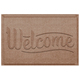 Home Accent Aqua Shield Simple Welcome 2' x 3' Doormat
