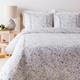 Watercolor Design 2 Piece Twin Duvet Bedding Set