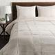 Textured Cotton 2 Piece Twin Duvet Bedding Set