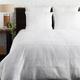 Textured Cotton 3 Piece Full/Queen Duvet Bedding Set