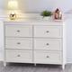 6 Drawer Piper Cream Dresser