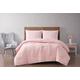 2 Piece Twin XL Brooklyn Loom Chicago Woven Comforter Set