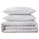 3 Piece Full or Queen Brooklyn Loom Chicago Woven Duvet Cover Set