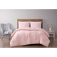 3 Piece King Brooklyn Loom Chicago Woven Duvet Cover Set