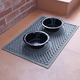 Dog Bowl Aqua Shield Wave Pet Feeding Mat