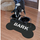 Surfaces Bark Bone Pet Feeding Mat