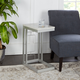 Camba Double Square C Table with Square  Accent