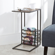 Derby Wood and Metal End Table