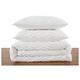 2 Piece Twin XL Brooklyn Loom Jameson Tufted Chenille Comforter Set