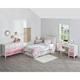 Three Tone Monarch Hill Poppy Pink and White Desk