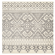 Power Loomed 4' x 4' Square Rug