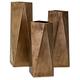 Borsari Contempo Metal Vases (Set of 3)