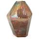 Multicolor Geode Medium Glass Vase
