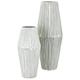 Iron Willow Metal Vases (Set of 2)