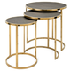Gela Stainless Steel Tables (Set of 3)