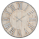 Camba Galvanized Wall Clock