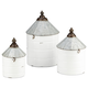 Iron Savannah Decorative Containers (Set of 3)