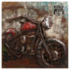 Macho Motorcycle Dimensional Metal Art