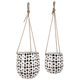 Zinco Hanging Planters (Set of 2)