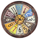 Home Accents License Plate Wall Clock