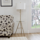 Contempo Tripod Base Floor Lamp with Tray Table