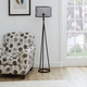Contempo Tripod Floor Lamp with Metal Mesh Shade