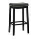 Backless Claridge Black Bar Stool