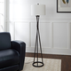 Contempo Twisted Metal Floor Lamp