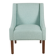 Modern Swoop Arm Accent Chair