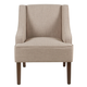 Classic Swoop Arm Accent Chair