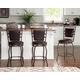 Alfred Townsend Three Piece Adjustable Stool Set