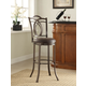 Gardenia Calif Metal Bar Stool