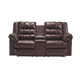 Brolayne DuraBlend® Reclining Loveseat with Console