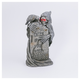 Decorative Battery-Operated Tombstone and Ghoul with Timer Feature