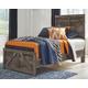 Wynnlow Twin Crossbuck Panel Bed