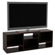 Espresso Finish Waddell Bookcase/TV Stand for TVs up to 60