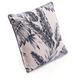 Modern Leaf Print Pillow