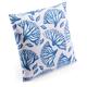 Modern Coral Print Pillow