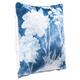 Modern Floral Print Pillow