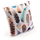 Modern Feather Print Pillow
