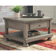 Lettner Coffee Table with Lift Top