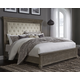 Johnelle California King Upholstered Panel Bed