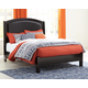 Minota Queen Upholstered Sleigh Bed