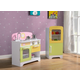 Kids Play Kitchen and Refrigerator (Set of 2)