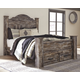 Lynnton Queen Poster Bed with 2 Storage Drawers