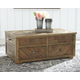 Grindleburg Coffee Table with Lift Top
