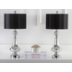 Crackle Glass Table Lamp (Set of 2)