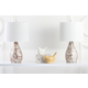 Shell Gourd Shaped Table Lamp (Set of 2)
